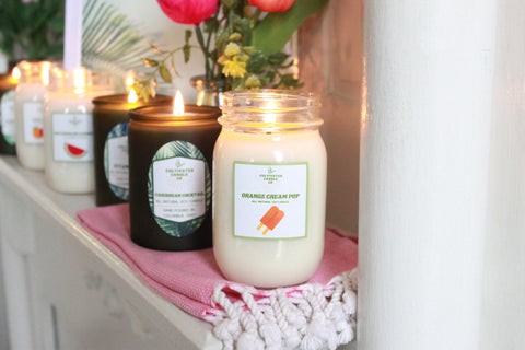 The Summer Collection at Cultivated Candle Co.