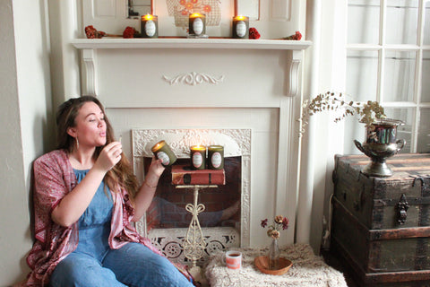 cultivated candle co. co-founder Colleen