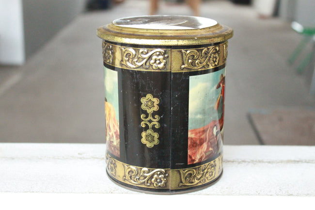 Pick the Scent -  Vintage German Dogs Tin Candle
