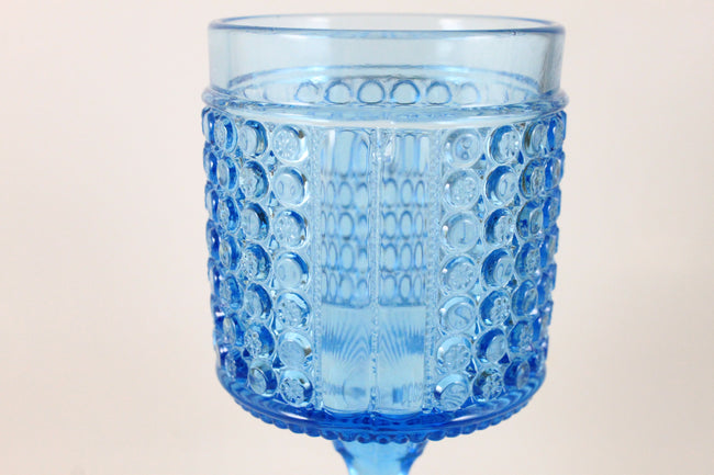 Pick the Scent - Blue Early American Pattern Goblet Candle