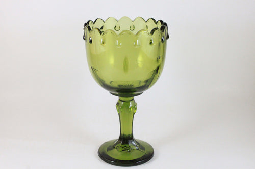 Pick the Scent - Green Scalloped Goblet Candle