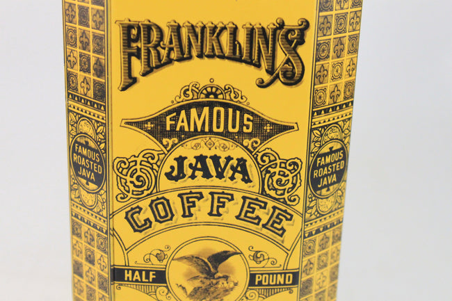 Pick the Scent - Franklin's Java Coffee Tin Candle