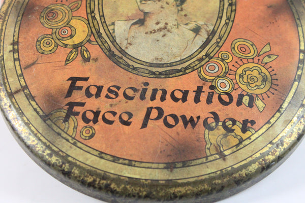 Pick the Scent - Fascination Face Powder Tin Candle