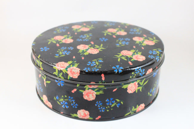 Pick the Scent - Black Floral Tin Candle
