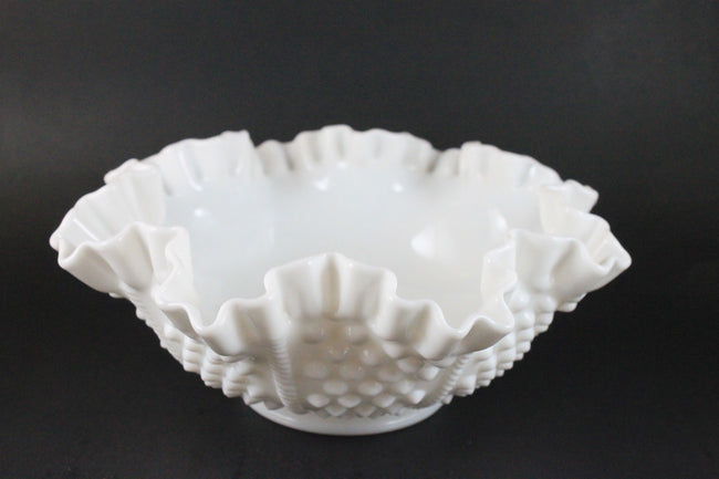 Pick the Scent - Hobnail Milk Glass Candle