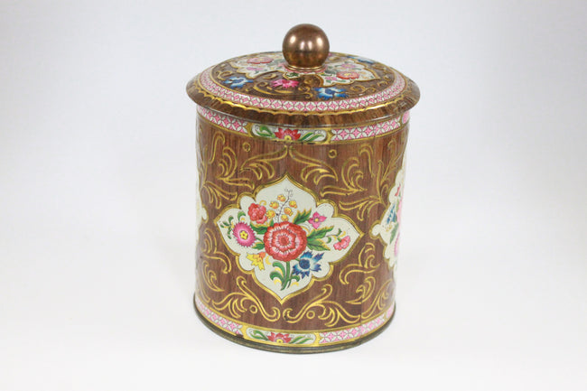 Pick the Scent - Retro Floral Canister Candle