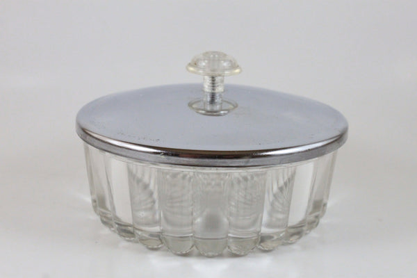 Pick the Scent - Clear & Metal Powder Case Candle