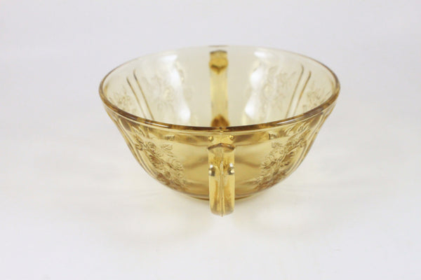 Pick the Scent - Yellow Floral Sugar Dish Candle