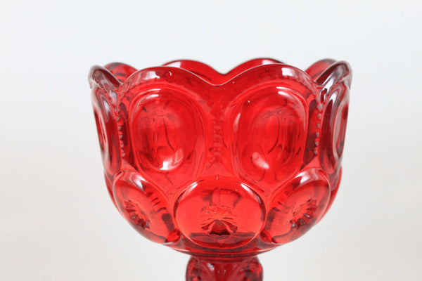 Pick the Scent - Ruby Red Moon & Stars Glass Candle