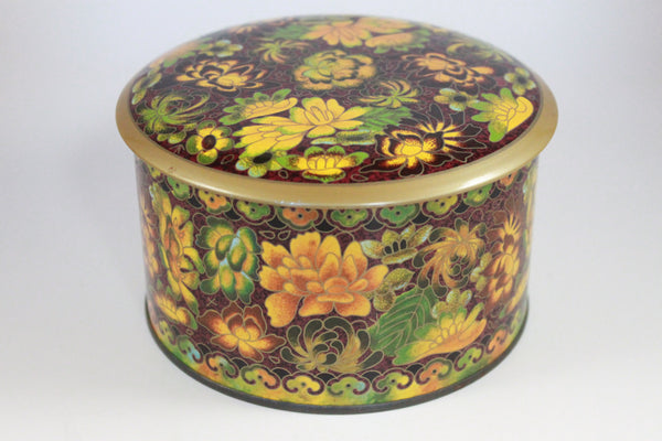 Pick the Scent - Short Round Autumn Harvest Tin Candle