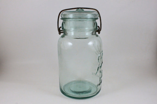 Pick the Scent - Blue-Green Ball Jar Candle