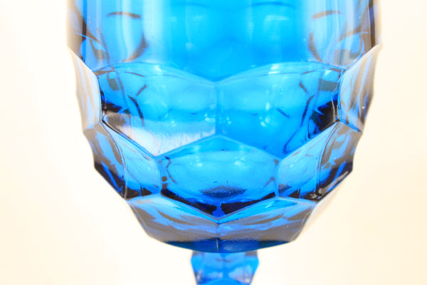 Pick the Scent - Detailed Cobalt Blue Goblet Candle
