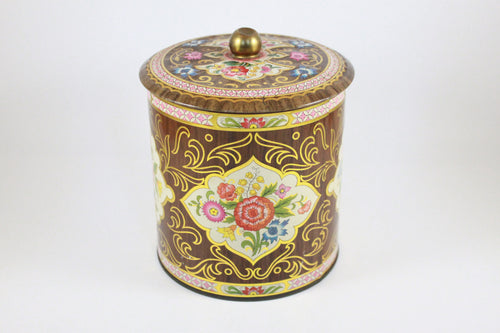 Pick the Scent - Retro Floral Tin Candle