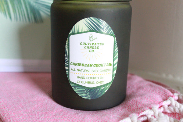 Caribbean Cocktail Candle