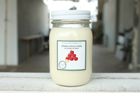 Pick the Scent - Green Belgium Apothecary Glass Candle