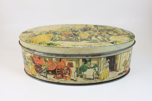 Pick the Scent - Horse & Carriage Scene Tin Candle