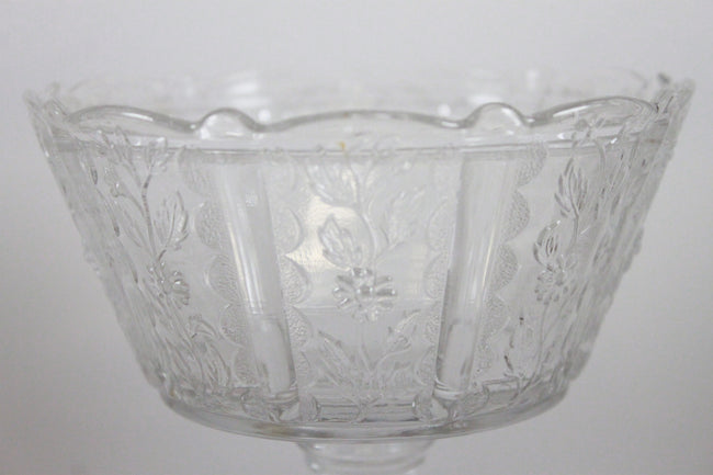 Pick the Scent - Clear Floral Candy Dish Candle