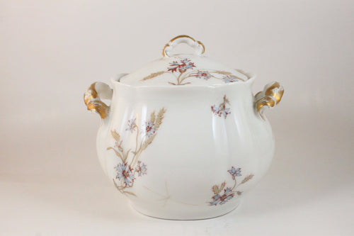 Pick the Scent - Floral & Gold China Dish Candle