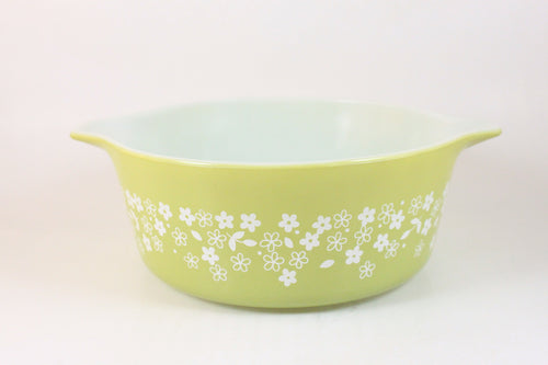 Pick the Scent - Lime Green Crazy Daisy Pyrex Candle