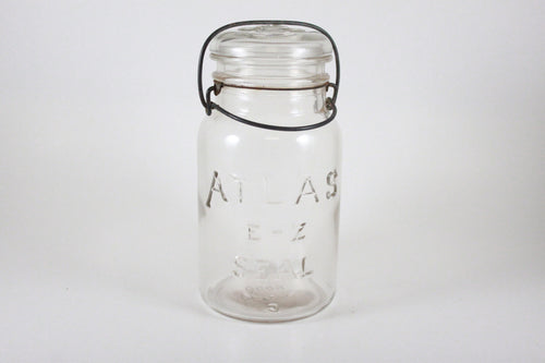 Pick the Scent - Clear Vintage Atlas Jar Candle