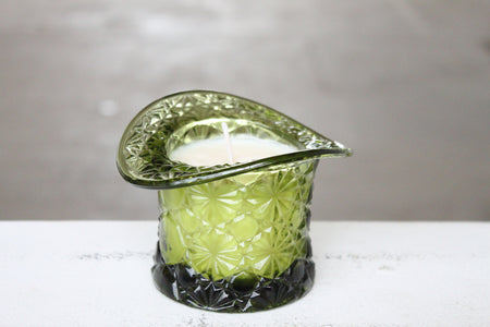 Pick the Scent - Clear Hen Candy Dish Candle
