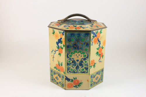 Pick the Scent - Floral Octagon Tin Candle