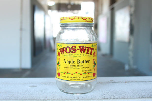 Pick the Scent - Wos-Wit Apple Butter Jar Candle