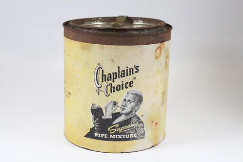 Pick the Scent - Chaplain's Choice Tobacco Tin Candle