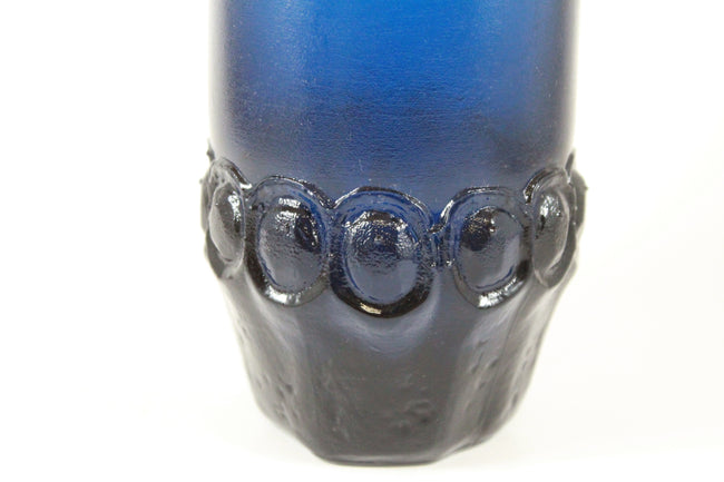 Pick the Scent - Blue Franciscan Crystal Pressed Glass Candle