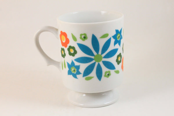 Pick the Scent - Blue Flower Power Teacup Candle