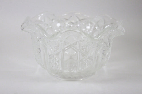 Pick the Scent - Clear Ruffled Star Bowl Candle