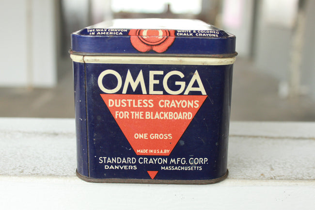 Pick the Scent - Omega Crayons Tin Candle