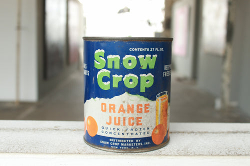 Pick the Scent - Snow Crop Orange Juice Tin