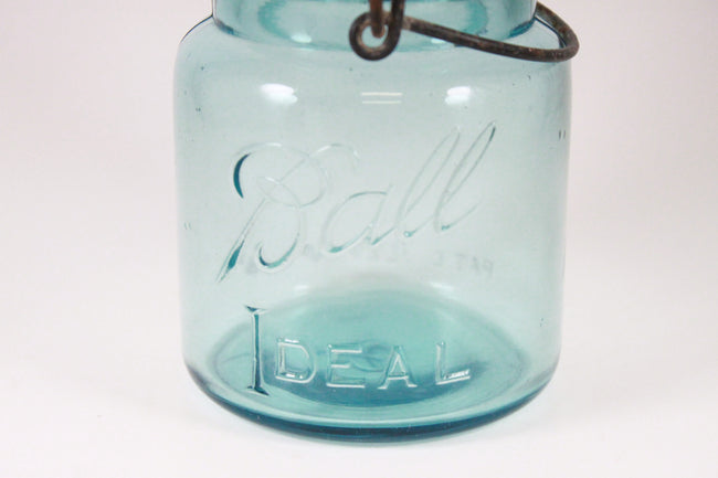 Pick the Scent - Vintage Short Ball Jar Candle w/ Flat Glass Lid