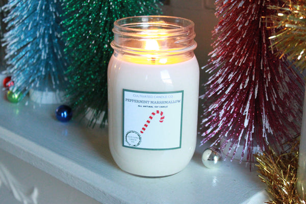 Peppermint Marshmallow Candle