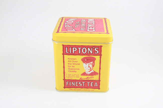 Pick the Scent -  Lipton Tea Tin Candle