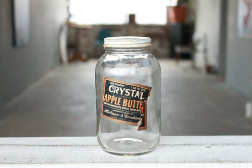 Pick the Scent - Vintage Crystal Apple Butter Jar Candle