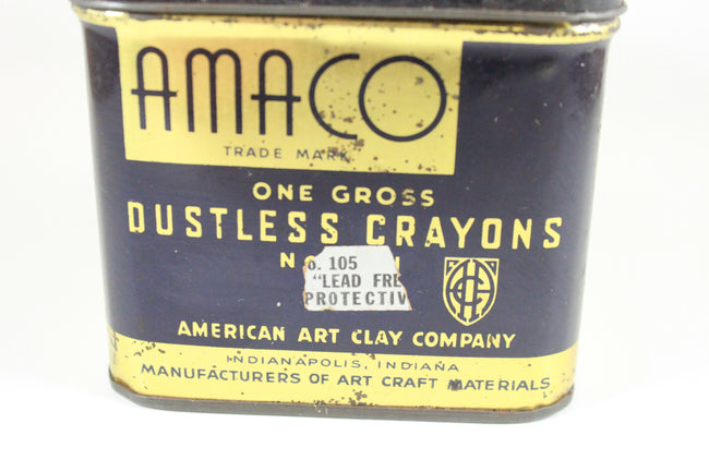 Pick the Scent - Amaco Crayons Tin Candle