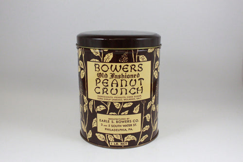 Pick the Scent - Bowers Peanut Crunch Tin Candle