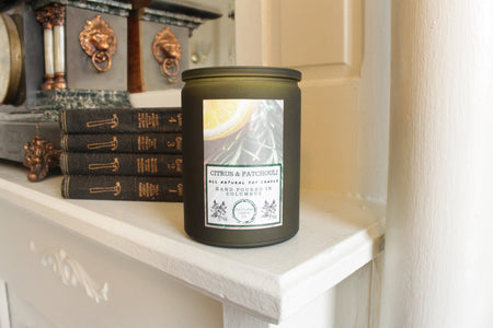 Deerwood Coffee Tin Candle