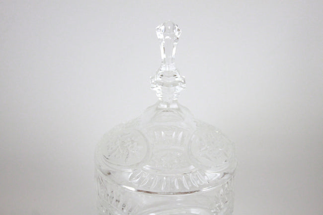 Pick the Scent - Clear Detailed Spire Candy Dish Candle