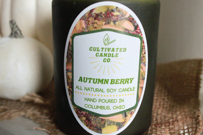 Autumn Berry Candle