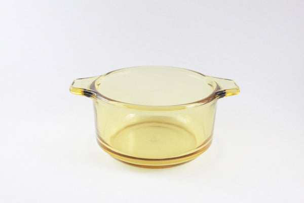 Pick the Scent - Yellow Depression Glass Bowl Candle