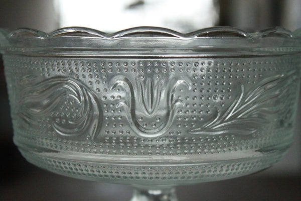 Pick the Scent - Clear Pedestal Florist Bowl Candle