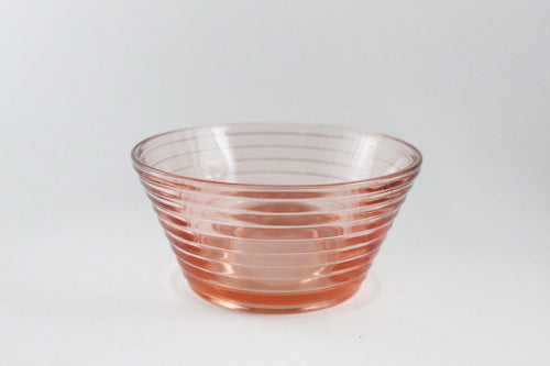 Pick the Scent - Pink Depression Glass Bowl Candle