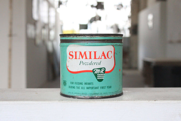 Vintage Similac Tin Candle