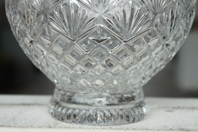 Pick the Scent - Clear Scalloped Candy Dish Candle