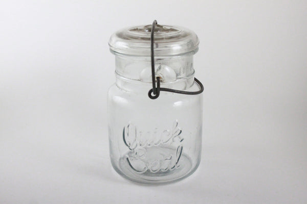 Pick the Scent - Clear Quick Seal Jar Candle