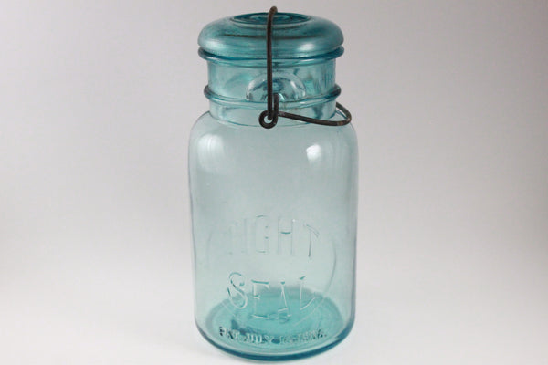 Pick the Scent - Blue Tight Seal Jar Candle