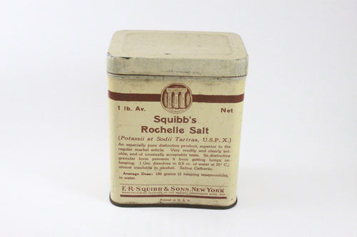 Pick the Scent - Squibb's Rochelle Salt Tin Candle